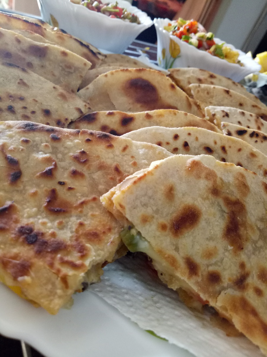 Mexican Veggie Quesadilla