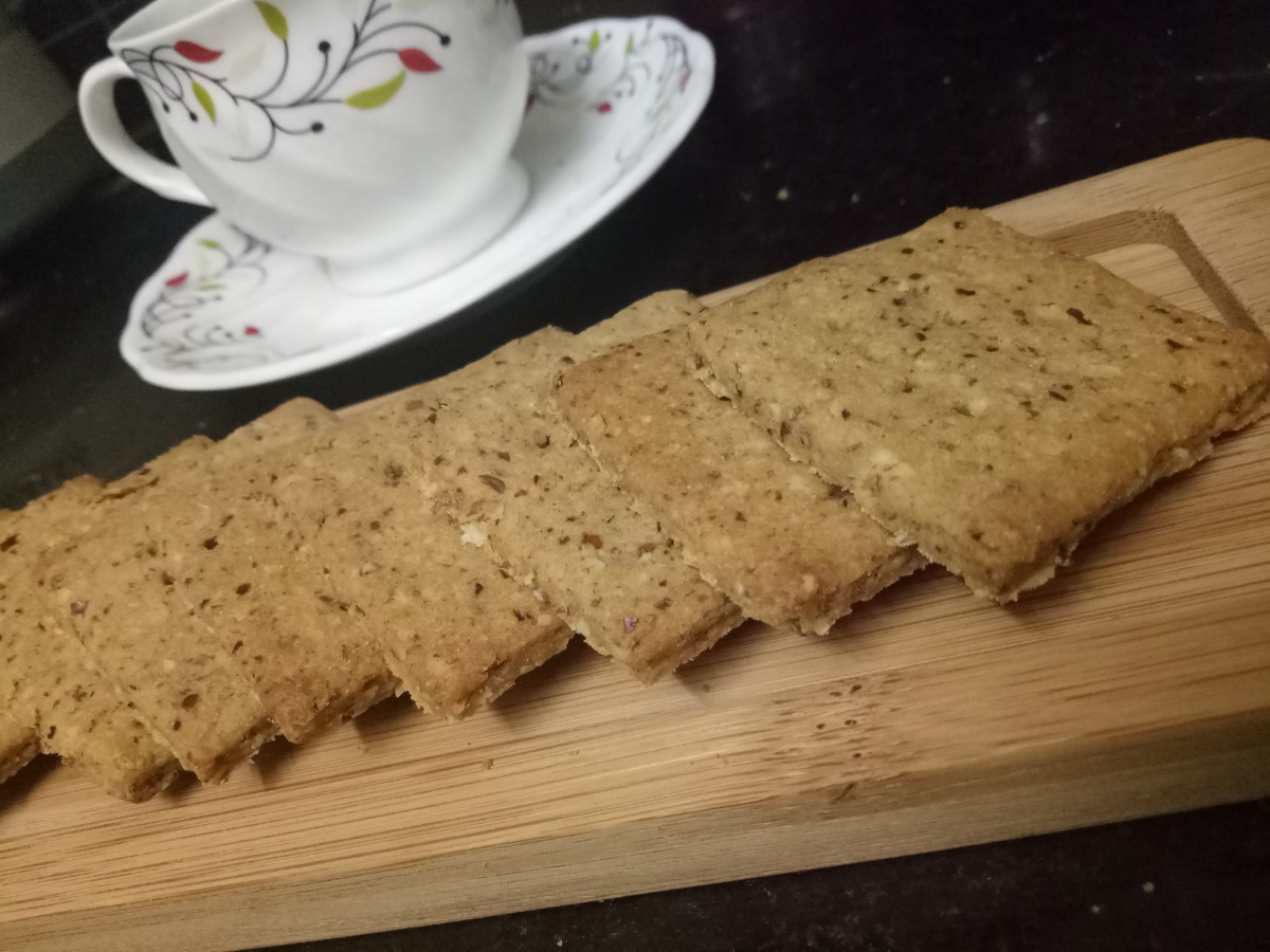 Oats & Flax meal Crackers